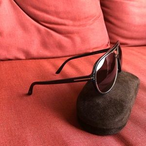"Authentic Tom Ford aviator ""Sergio"" sunglasses"